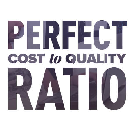 Perfect cost to quality